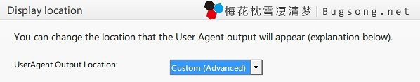 Useragent-Option